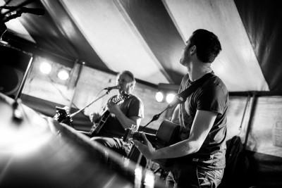 live muziek tijdens de chiro-ksa bierfeesten