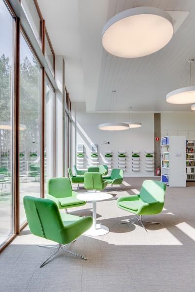 vernieuwd bibliotheek in Lummen